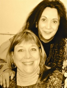 With Judith Malina at my book party!