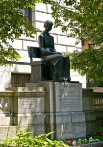 Mary Dyer statue in Boston, by Sylvia Shaw Judson