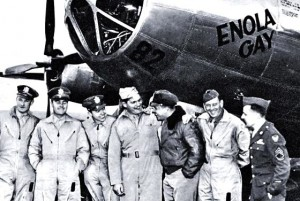 Jovial crew of the Enola Gay