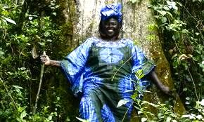 Wangari Maathai launched the Green Belt Movement